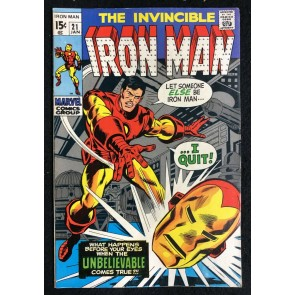 Iron Man (1968) #21 FN+ (6.5) Crimson Dynamo app