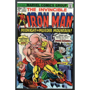 Iron Man (1968) #79 FN (6.0) vs Doctor Kurarkill