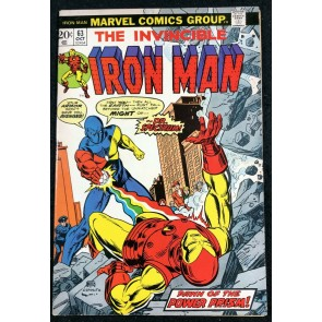 Iron Man (1968) #63 VF- (7.5) vs Dr. Spectrum