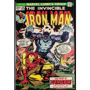 Iron Man (1968) #56 NM- (9.2)  Jim Starlin art