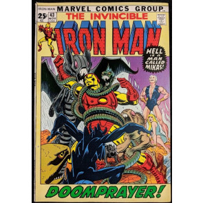Iron Man (1968) #43 VF- (7.5)  1st app Guardsman  52 pg Giant
