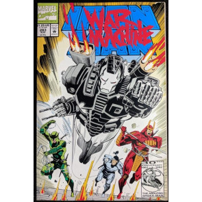 Iron Man (1968) #283 NM (9.4)  2nd app War Machine