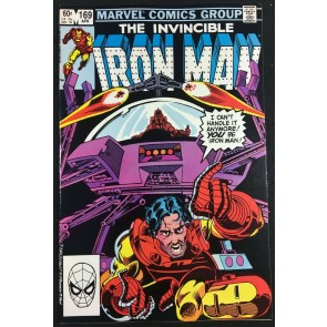 Iron Man (1968) #169 VF+ (8.5) Jim Rhodes replaces Tony Stark as Iron Man