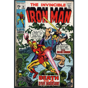Iron Man (1968) #26 VG (4.0) Solar Sword