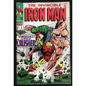 Iron Man (1968) #6 FN (6.0) versus Crusher