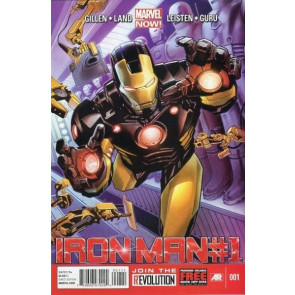 IRON MAN (2012) #1 VF/NM 1ST PRINTING MARVEL NOW!