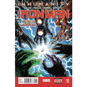 IRON MAN (2012) #20 VF+ - VF/NM INHUMANITY TIE-IN MARVEL NOW!