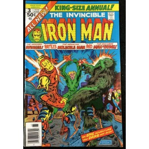 Iron Man Annual (1976) #3 FN+ (6.5) Man-Thing Cover & Story