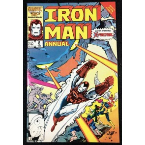 Iron Man Annual (1986) #8 VF (8.0) X-Factor Cover & Story