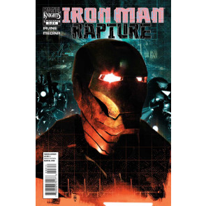 IRON MAN: RAPTURE (2011) #'s 1, 2, 3, 4 COMPLETE VF+ - VF/NM SET MARVEL KNIGHTS