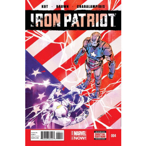 IRON PATRIOT (2014) #4 VF/NM MARVEL NOW! IRON MAN WAR MACHINE