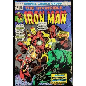 Iron Man (1968) #68 NM- (9.2)  battles Unicorn and Sunfire