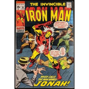 Iron Man (1968) #38 NM- (9.2)