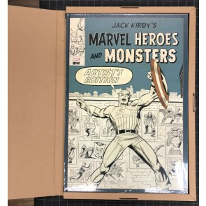 Jack Kirby's Heroes & Monsters Artifact (2018) NM IDW Hard Cover Still Sealed