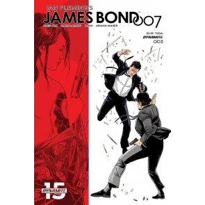 James Bond 007 (2018) #3 VF/NM Marc Laming Cover D Dynamite