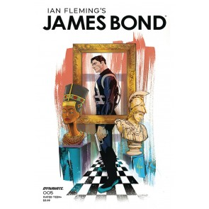 James Bond (2019) #5 VF/NM Afua Richardson Cover Dynamite