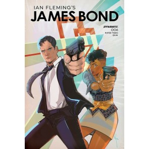 James Bond (2019) #6 VF/NM Afua Richardson Cover Dynamite