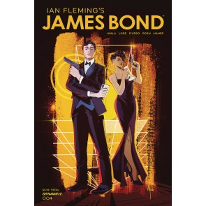 James Bond (2019) #4 VF/NM Afua Richardson Cover Dynamite
