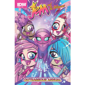 JEM & THE HOLOGRAMS OUTRAGEOUS ANNUAL (2015) #1 VF/NM IDW