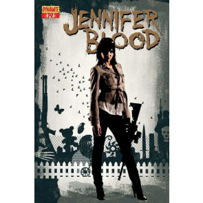 JENNIFER BLOOD #19 VF/NM DYNAMITE GARTH ENNIS TIM BRADSTREET COVER