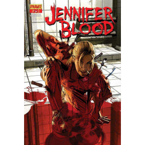 JENNIFER BLOOD #25 VF/NM DYNAMITE GARTH ENNIS TIM BRADSTREET COVER