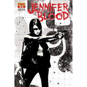 JENNIFER BLOOD #8 VF/NM DYNAMITE GARTH ENNIS BRADSTREET VARIANT COVER