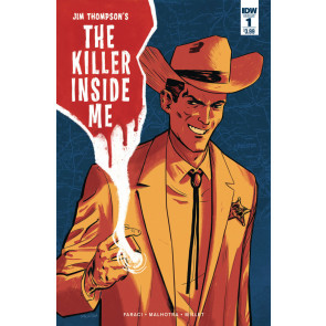 Jim Thompson's The Killer Inside Me (2016) #1 VF/NM Vic Malhotra Cover IDW
