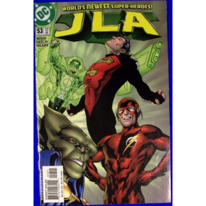 JLA # 53 JUSTICE LEAGUE OF AMERICA