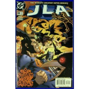 JLA # 66 67 THE DESTROYERS STORYLINE COMPLETE
