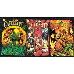 JLA Black Gatekeeper (2001) #1 2 3 NM (9.4) Complete set