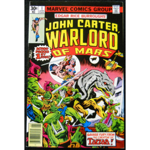 JOHN CARTER WARLORD OF MARS #1 NM- MARVEL COMICS