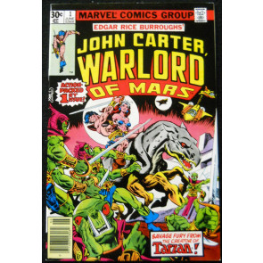 JOHN CARTER WARLORD OF MARS #1 VF/NM MARVEL COMICS