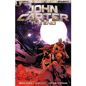 John Carter: The End (2017) #1 VF/NM Garry Brown Dynamite