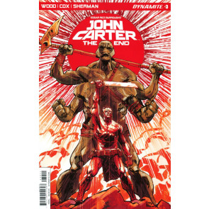John Carter: The End (2017) #3 VF/NM Garry Brown Dynamite