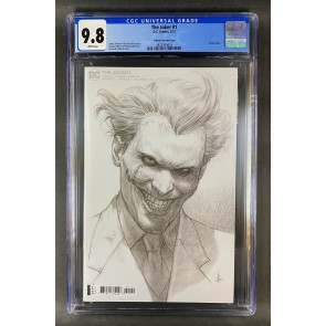 Joker (2021) #1 CGC Graded 9.8 White Pages Federici Sketch Variant (3822924016)