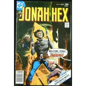 JONAH HEX #4 FN/VF 1977