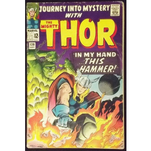 JOURNEY INTO MYSTERY #120 VG THOR
