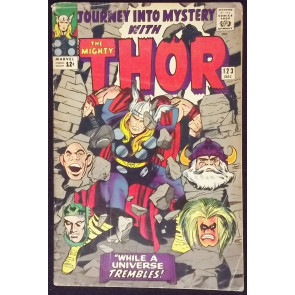 JOURNEY INTO MYSTERY #123 VG THOR