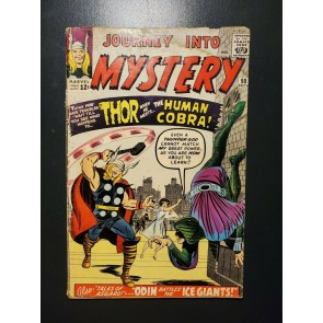 Journey Into Mystery #98 Good (2.0) 1st Appearance of the Human Cobra |