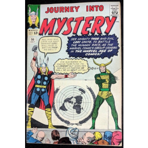 Journey into Mystery (1962) #94 FN- (5.5) featuring Thor & Loki