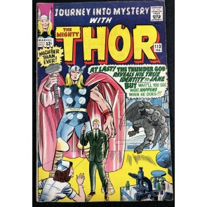 Journey into Mystery (1952) #113 FN (6.0) featuring Thor Loki origin