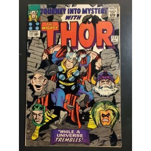 JOURNEY INTO MYSTERY #123 (1965) F- 5.5 LEE/KIRBY 1ST APPEARANCE OF THE DEMON|
