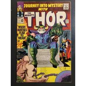 Journey Into Mystery #122 (1965) VG/F Odin Thor Absorbing Man Cover Jack Kirby|
