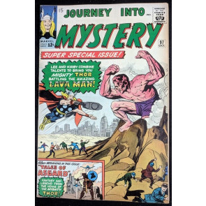Journey into Mystery (1962) #97 FN (6.0) featuring Thor