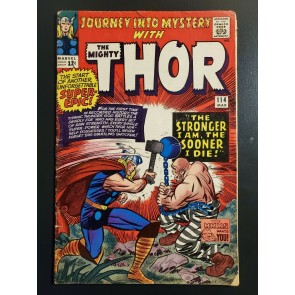Journey Into Mystery #114 (1965) VG (4.0) 1st app. Absorbing Man Jack Kirby |