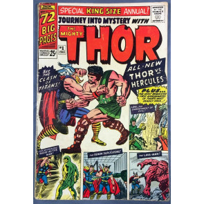 Journey into Mystery Annual (1965) #1 GD+ (2.5) featuring Thor 1st app Hercules