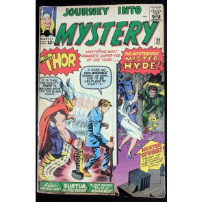 Journey into Mystery (1962) #99 GD+ (2.5) featuring Thor 1st app Mr.Hyde