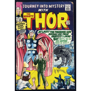 Journey into Mystery (1952) #113 VG- (3.5) featuring Thor Loki origin