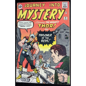 Journey into Mystery (1962) #87 VG (4.0) featuring Thor