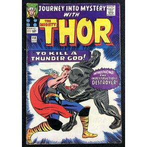 Journey into Mystery (1962) #118 FN- (5.5) featuring Thor 1st app Destroyer